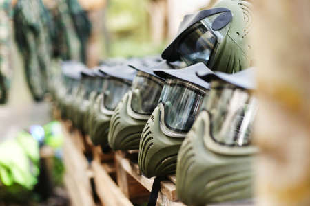 army face: Mask for paintball