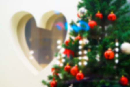 new years day: abstract blur. Valentines day after new years holidays Stock Photo