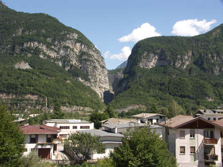 View from Longarone
