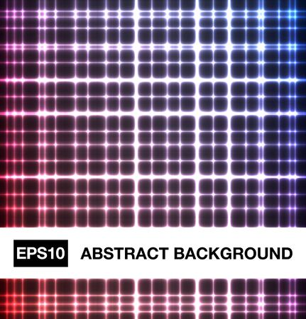 Abstract neon crossed lines Stock Vector - 13170745