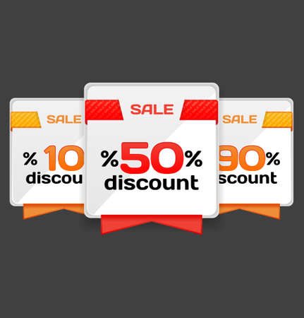 Sale or discount tag Stock Vector - 13170715