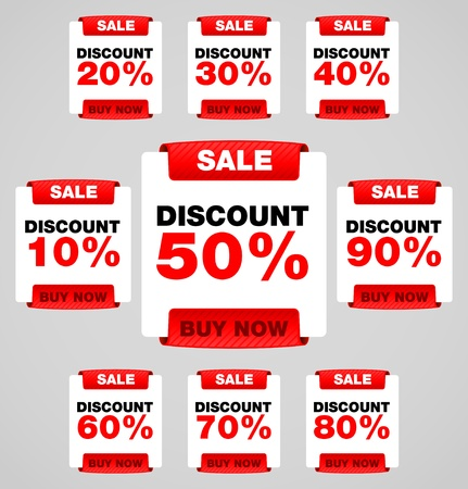 Discount or sale tag Stock Vector - 13170707