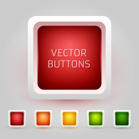 Web Buttons Pack Stock Vector - 17098722