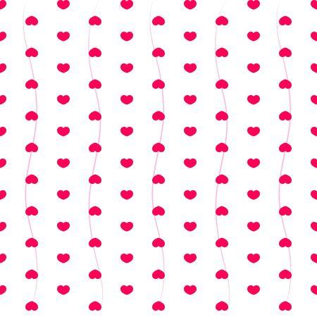 Heart  Illustration  Happy Valentine s Day Background Stock Vector - 17739017
