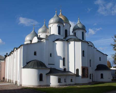 Saint Sophia Cathedral in Novgorod, Russia
