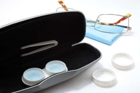 Contact lens vs eyeglasses
