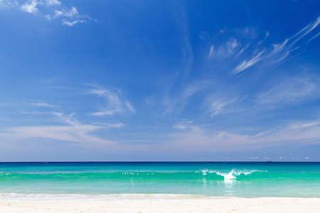 Beautiful sea view of Kata Noi beach, Phuket, Thailand