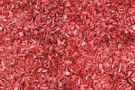 seamless red wood chip background