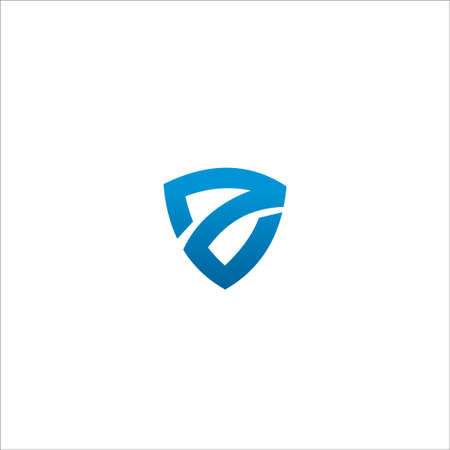 Z Letter Logo concept Logó