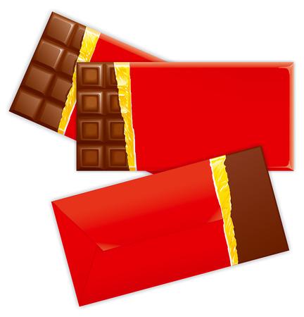 choco: Choco invitations illustration Stock Photo