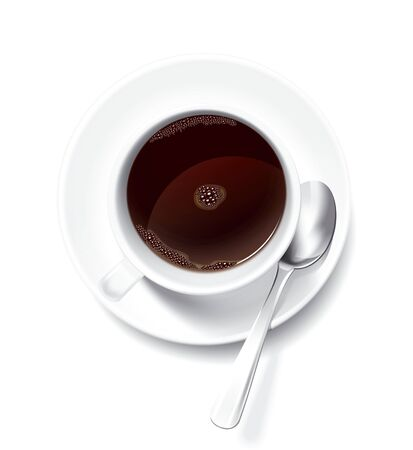 Cup of Coffee illustration Stock Photo