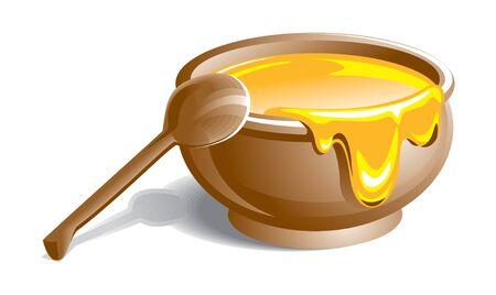 꿀 그림 스톡 콘텐츠