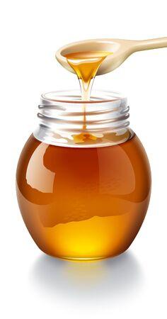 drizzle: Honey illustration