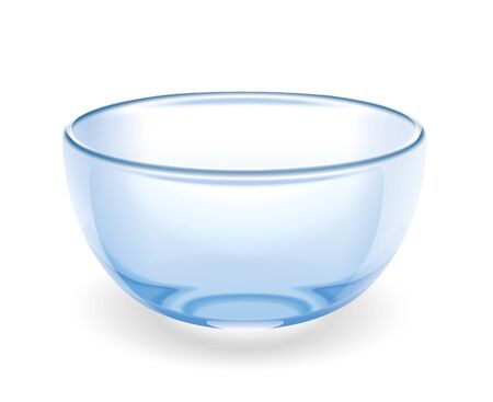 Glass cup illustration
