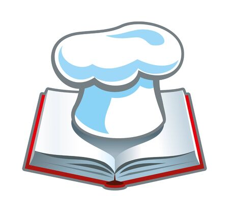 Cookbook Stock Photo