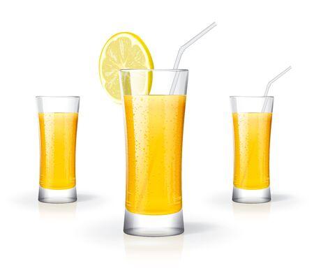 Fresh juice glass