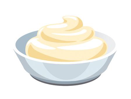 Sauce. Mayonnaise.