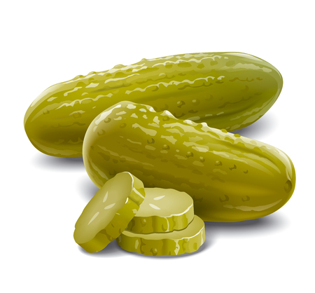 pickles cucumbers Stock Photo