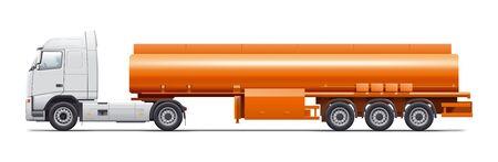 gasoline tanker illustration
