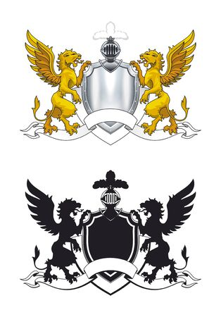 knightly: coat of arms