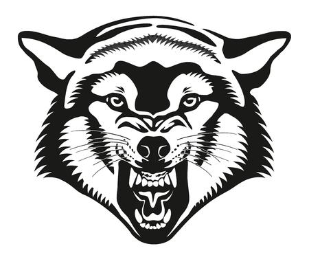 Wolf head Фото со стока
