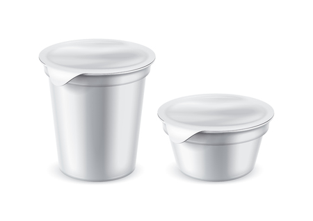 Plastic pack for foods Фото со стока