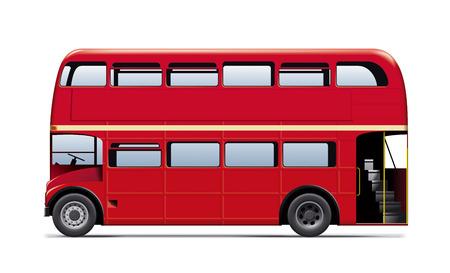 ロンドン市内バス。