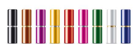 Clear Lipstick Mockup Set