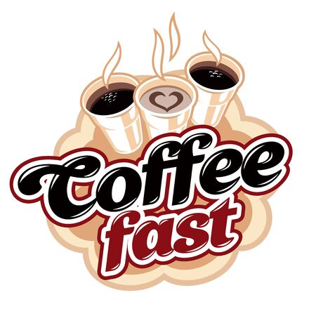 Coffee fast drink Stock Photo