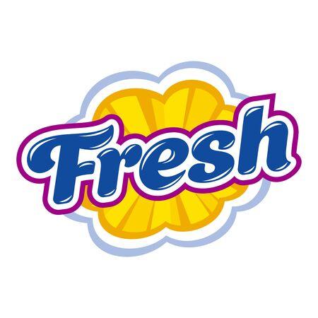 Fresh style emblem
