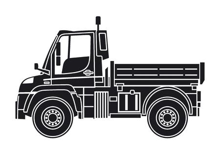 Tipper transport illustration