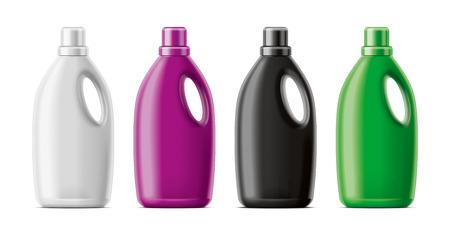 Plastic Bottles mockup.