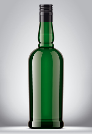 Glass bottles mockups.