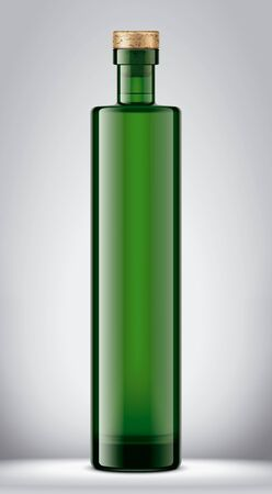 Glass bottle mock up