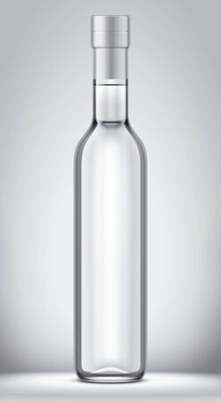 Glass bottle mock-up