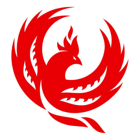 Firebird. Abstract illustration for your projects