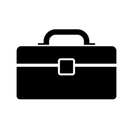 Tool box isolated vector icon. simple element illustration from industry concept vector icons. EPS 10