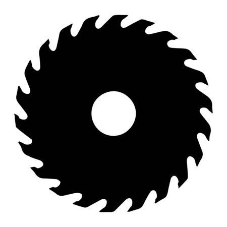 Circular saw simple icon. From Working tools, Construction and Manufacturing icons.
