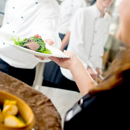 Salad, Commercial kitchen