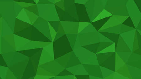 Forest Green abstract background in polygonal style, geometric vector