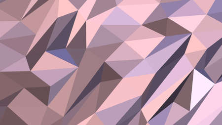 Thistle abstract background in polygonal style, colorful vector illustration, 3D Triangles