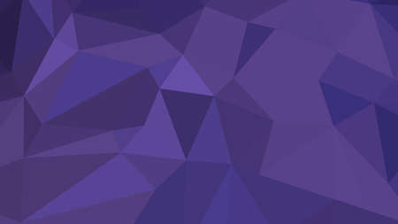 Dark Slate Blue abstract background in polygonal style, colorful vector illustration, 3D Triangles Ilustracje wektorowe