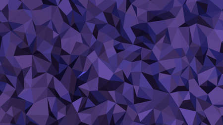 Dark Slate Blue abstract background in polygonal style, colorful vector illustration, 3D Triangles