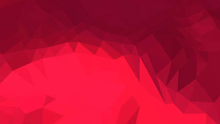 Crimson abstract background in polygonal style, colorful vector illustration, 3D Triangles
