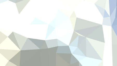 Light Cyan abstract background in polygonal style, colorful vector illustration, 3D Triangles
