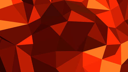 Chocolate abstract background in polygonal style, colorful vector illustration, 3D Triangles