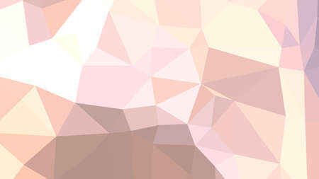 Misty Rose abstract background in polygonal style, colorful vector illustration, 3D Triangles