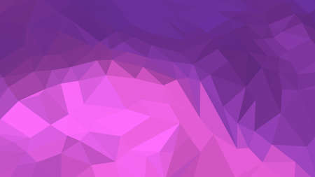 Medium Orchid abstract background in polygonal style, colorful vector illustration, 3D Triangles