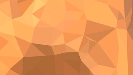 Sandy Brown abstract background in polygonal style, colorful vector illustration, 3D Triangles