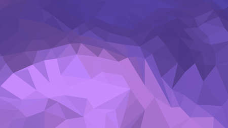 Medium Purple abstract background in polygonal style, colorful vector illustration, 3D Triangles
